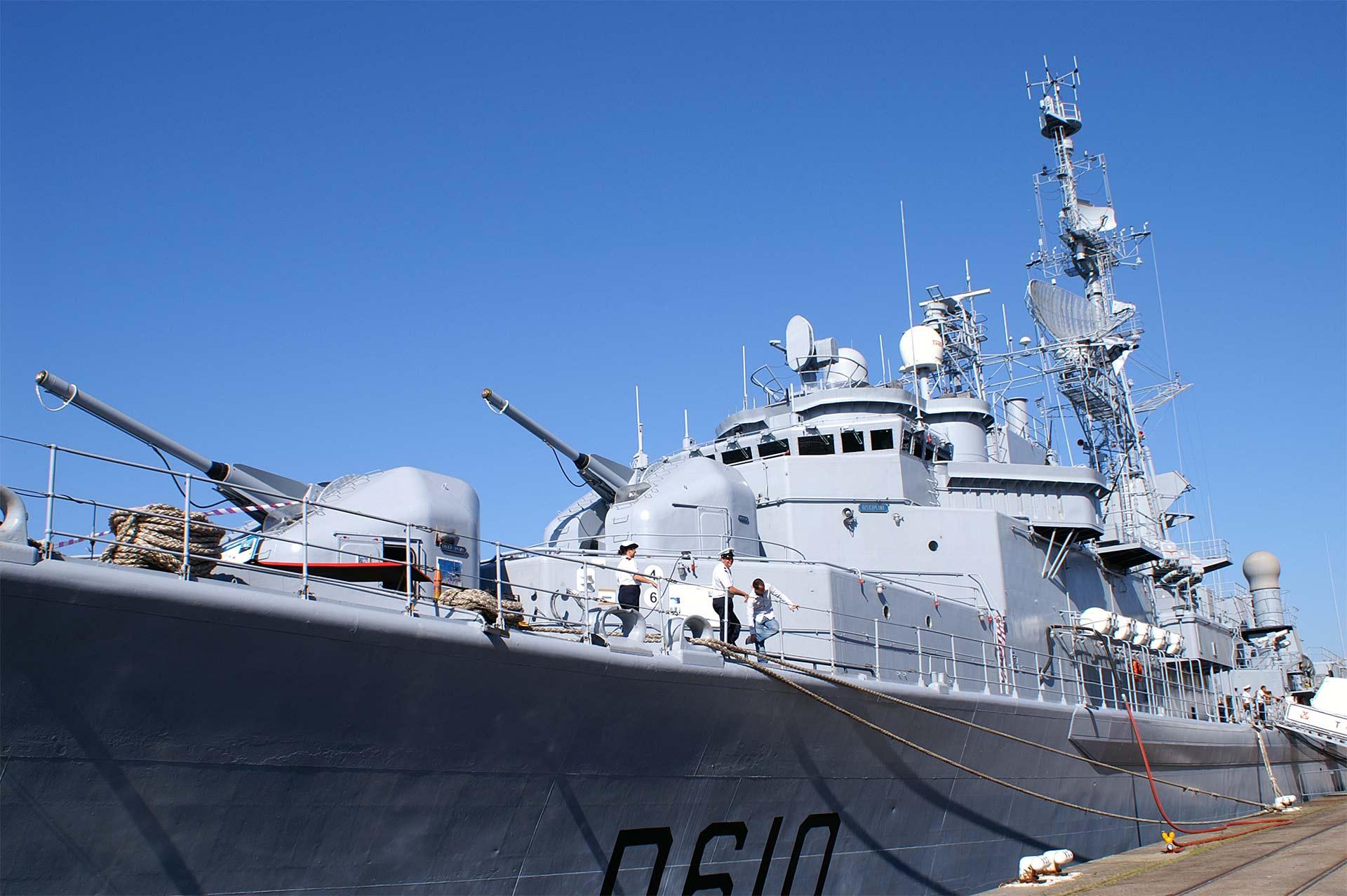 Marineschiff Mobile Brandmeldeanlage WES