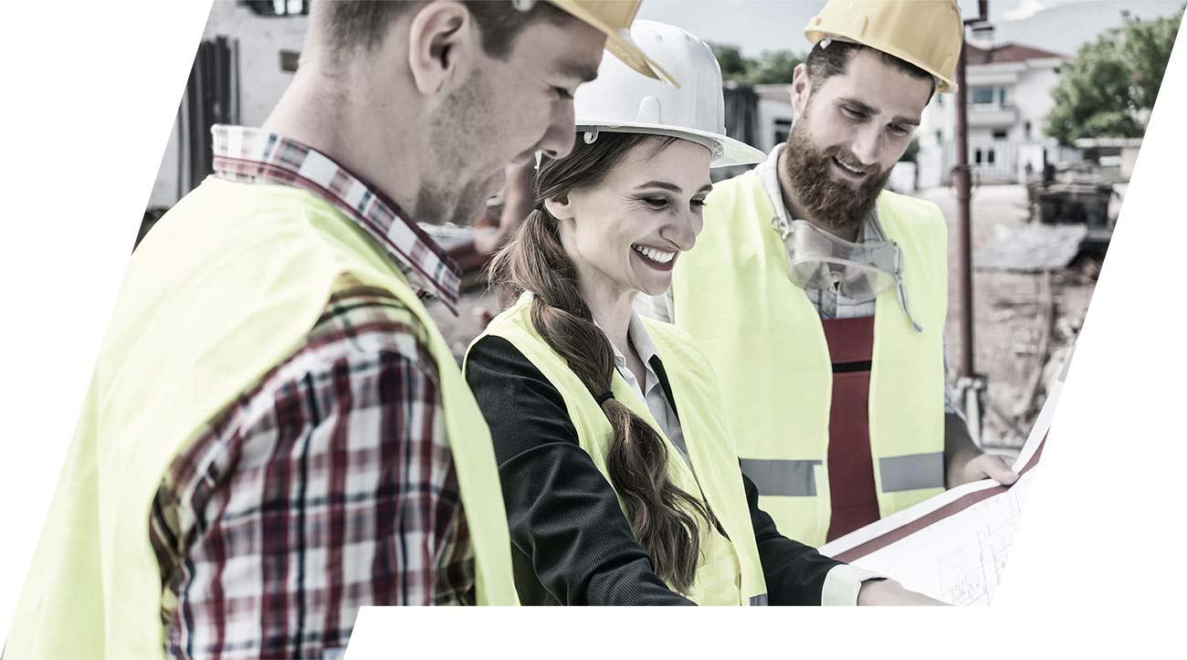ESB Solutions Baustelle Planung mobile Baustellensicherheit