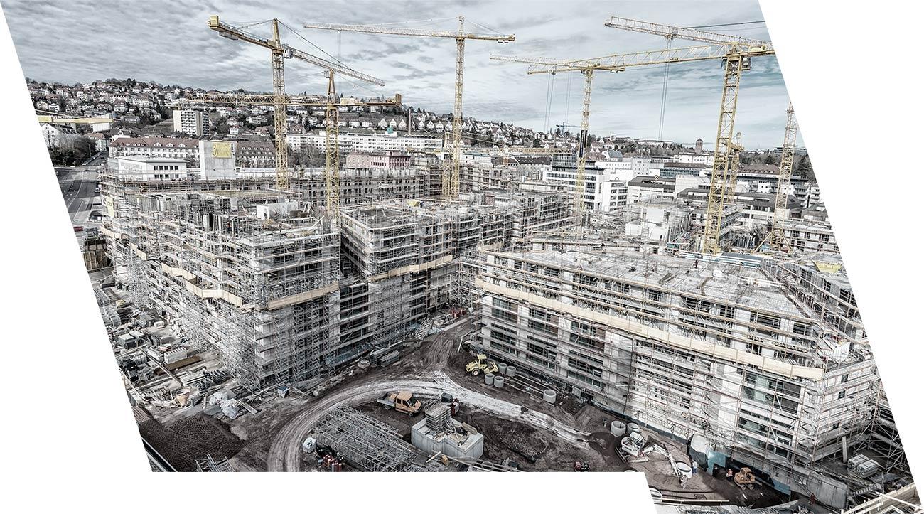 ESB Solutions Markt Baustellen Baustellensicherheit mobile Brandmeldeanlage und Evakuierung, Zutrittskontrolle Videoüberwachung