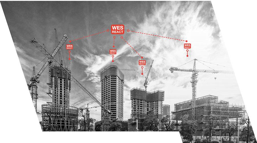 WES REACT Managementsystem für Baustellen WES3 Arbeitsschutz ESB Solutions