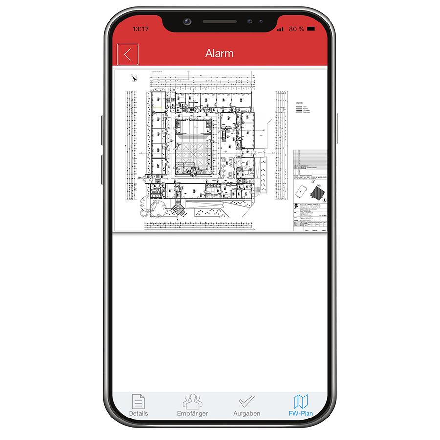 WES REACT Managementsystem Baustellen Feuerwehrlaufkarte ESB Solutions