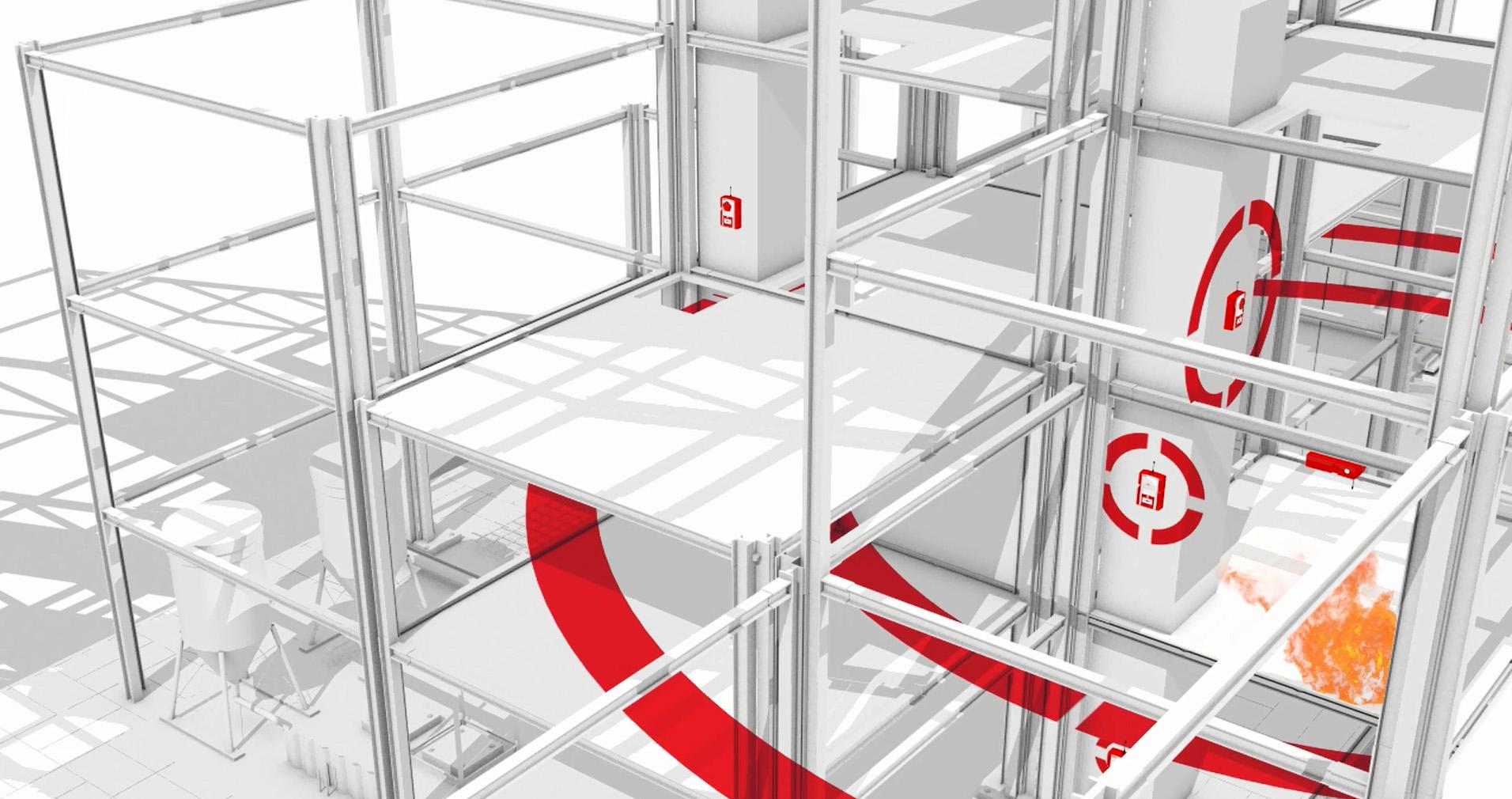 WES+ WES3 mobile Brandmeldeanlage und Evakuierung Maschennetzwerk ESB Solutions