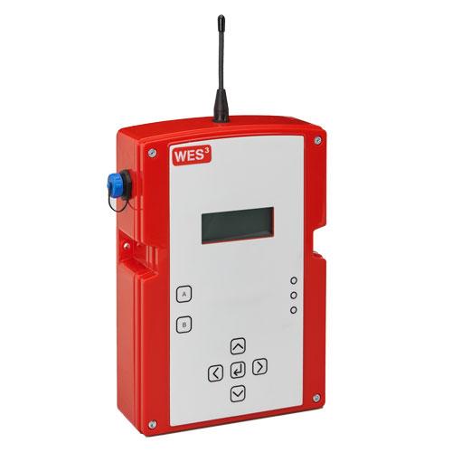 WES3 Basisstation mobile Evakuierungs- und Brandmeldeanlage