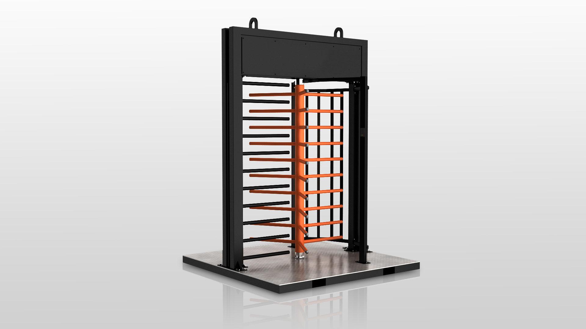 Zutrittskontrollanlage Gate XS Baustelle ESB Solutions IQ-Pass