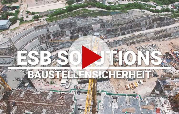 Imagevideo von ESB Solutions GmbH - Ihr Experte für Baustellensicherheit