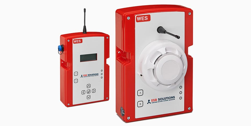 WES+ mobile Brandmeldeanlage von ESB Solutions