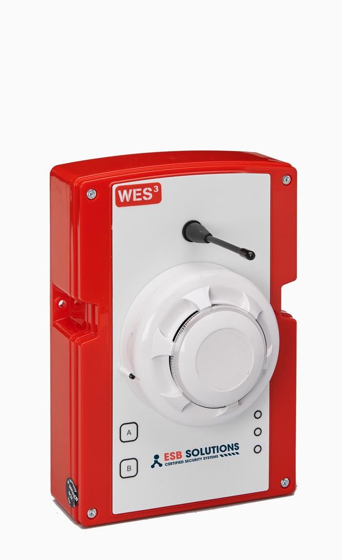 WES mobile Brandmeldeanlage Rauchmelder von ESB Solutions