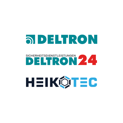 Kooperationspartner Deltron Deltron24 Heikotec Logos