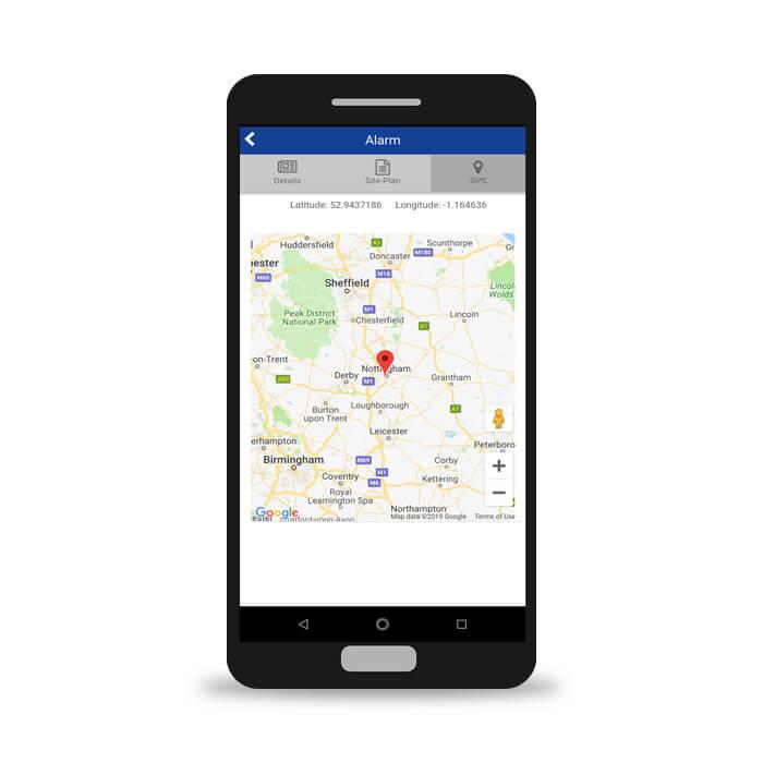 REACT App Darstellung Benuzteroberfläche Smartphone