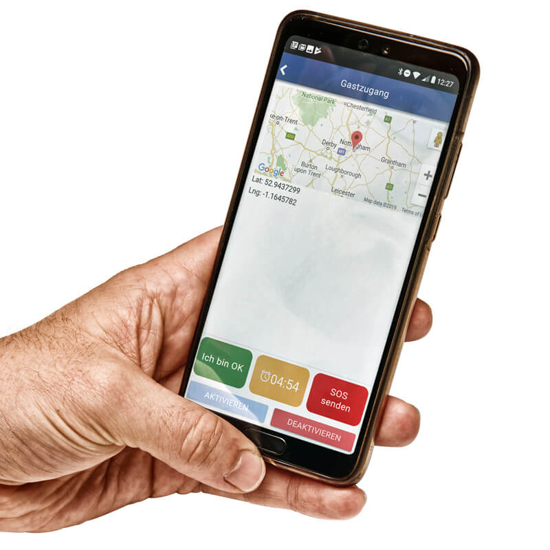 REACT Smartphone App Gastzugang